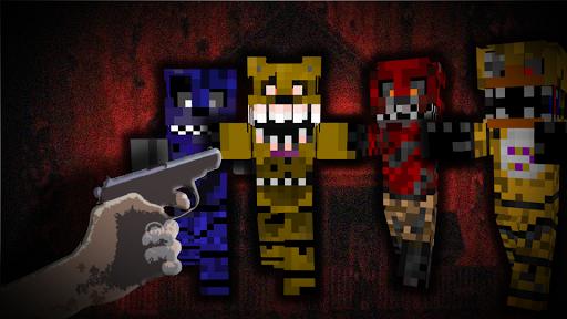 Skins FNAF 4 Minecraft