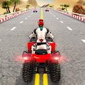 Quad ATV Traffic Racer icon