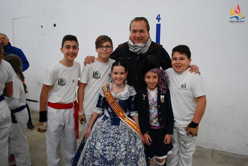 El Duc de Pelota infantil conquista el Trofeo Delegación