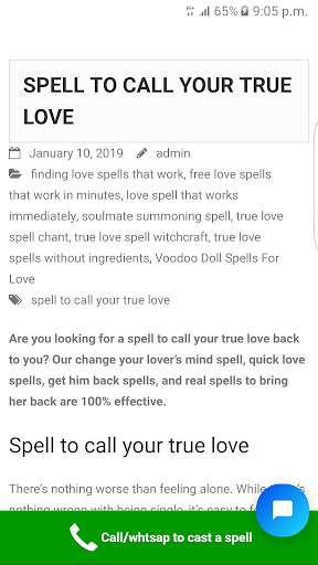 Cast A Spell - Love Spells Powerful Spell Caster App Report