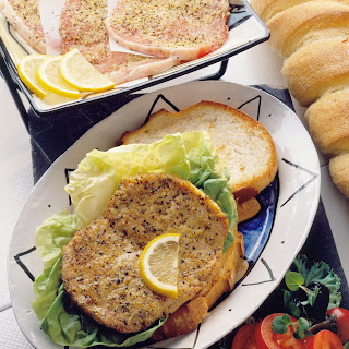 Pork Piccata Sandwiches.