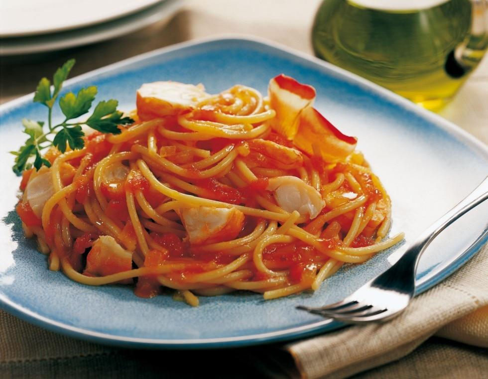 Spaghetti all'aragosta