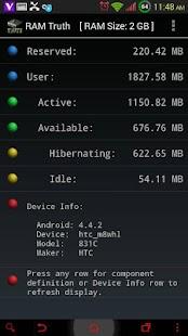 RAM Truth- screenshot thumbnail