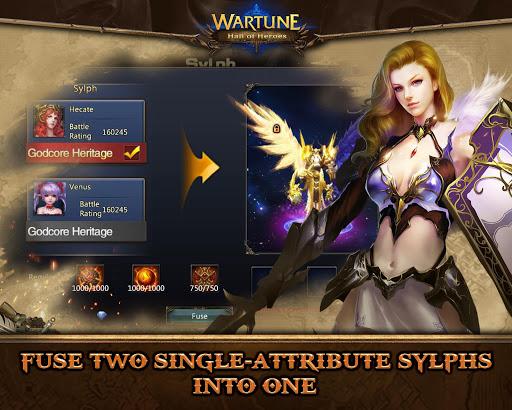 Wartune: Hall of Heroes 7.3.1 screenshots 8