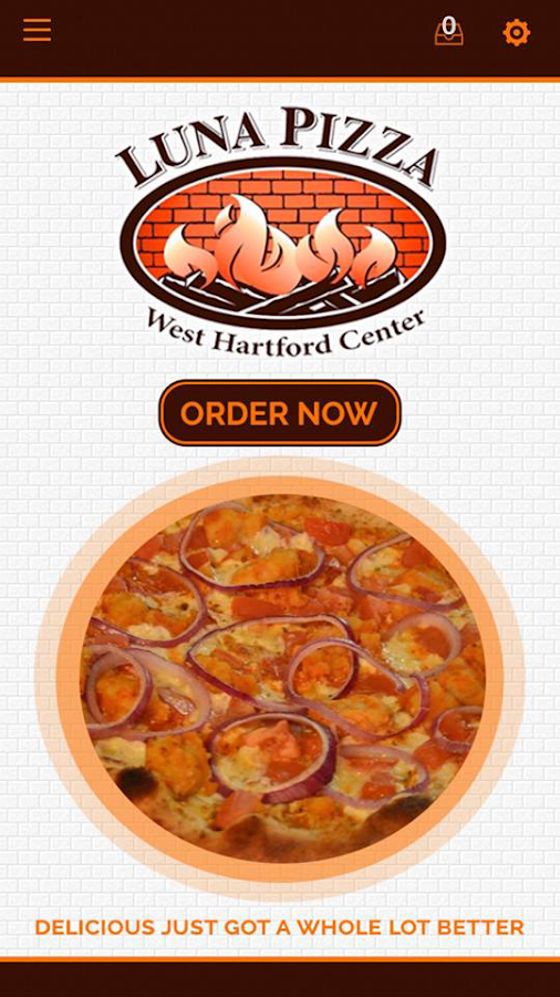 Luna Pizza West Hartford- screenshot