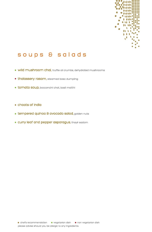 Masala Library menu 6