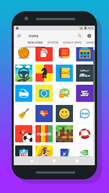 Oreo Square - Icon pack screenshot 4