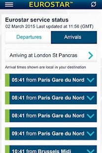 Eurostar Trains - screenshot thumbnail