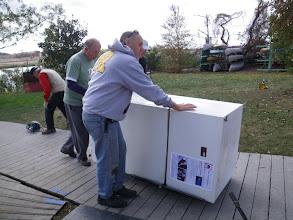 Photo: Alas, poor refrigerator.