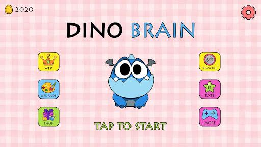 Dino Brain: Brain It On - Draw Physics Line apkpoly screenshots 7