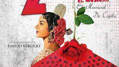 Cartel del musical 'Qué tiene la zarzamora'.