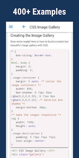 Learn CSS - Pro screenshot 2
