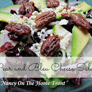 Pear and Bleu Cheese Salad