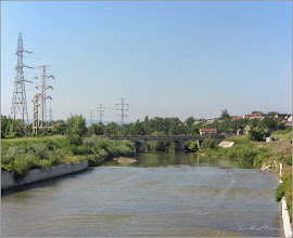 Photo: Turda - Str. Funicularului - Podul Industrial peste Raul Aries, vedere de pe podul din Piata Romana - 2018.08.14