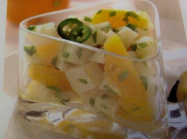 Orange-jicama Salad  With A  Jalapeno Touch Recipe