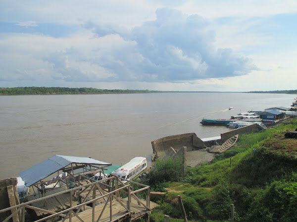 Amazon River Docks at Nauta