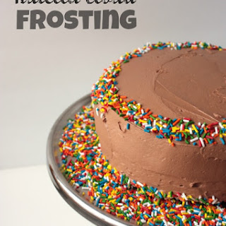 Nutella Cloud Frosting.