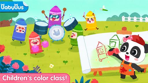Baby Panda's Paint Colors screenshots apkshin 1