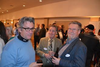 Photo: Scott Black, Gabriel Laszlo and David Eastwood