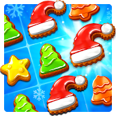Christmas Cookie - Santa Claus's Match 3 Adventure