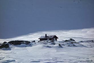 Photo: Hytte i Fødalen bak Iungsdalshytta
