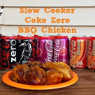 Coke Zero Slow Cooker BBQ Chicken.