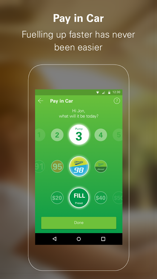 BPMe Pay for fuel in your car- screenshot