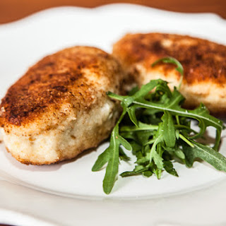 Fish Burgers Stuffed with Cod Liver