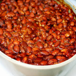 Hot and Smoky Baked Beans.