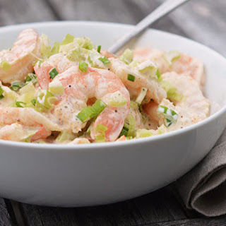 Old Bay Shrimp Salad.