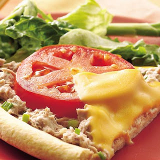 Ranch Tuna Melt Wedges Recipe