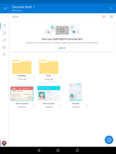 Microsoft OneDrive 6.12 screenshots 7
