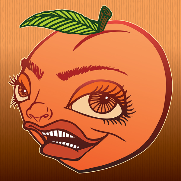 Logo of Transplants Peaches Be Trippin'