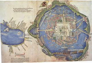 Photo: 1524 La Gran Tenochtitlán 102.- Praeclara Ferdinandi Cortesii de Nova maris Oceani Hyspania Narratio. Nuremberg, Fridericum Peypus Arthimesius 1524. (Letter sent 1522)