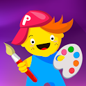 Pic Pen Coloring Book: Educational Game For Kids icon