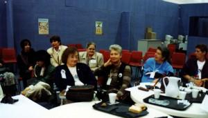 Early photos of some of WWDA's founding members