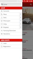 Screenshot of auto motor und sport