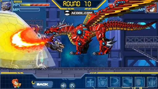 Toy Robot War:Fire Dragon
