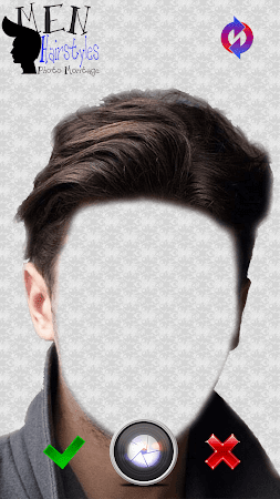 Men Hairstyles Photo Montage 3.0 screenshot 771472