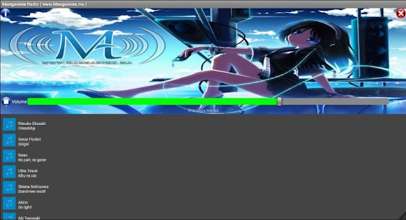 MANGANIME Radio- screenshot thumbnail