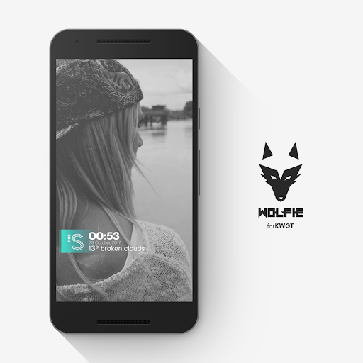 Screenshot for Wolfie for KWGT in Hong Kong Play Store