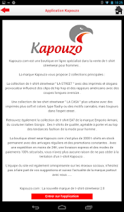 Kapouzo Officiel Streetwear screenshot 10