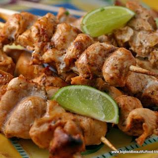 Salsa Chicken Skewers