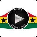 Ghana FM Radio Stations & Newspapers icon