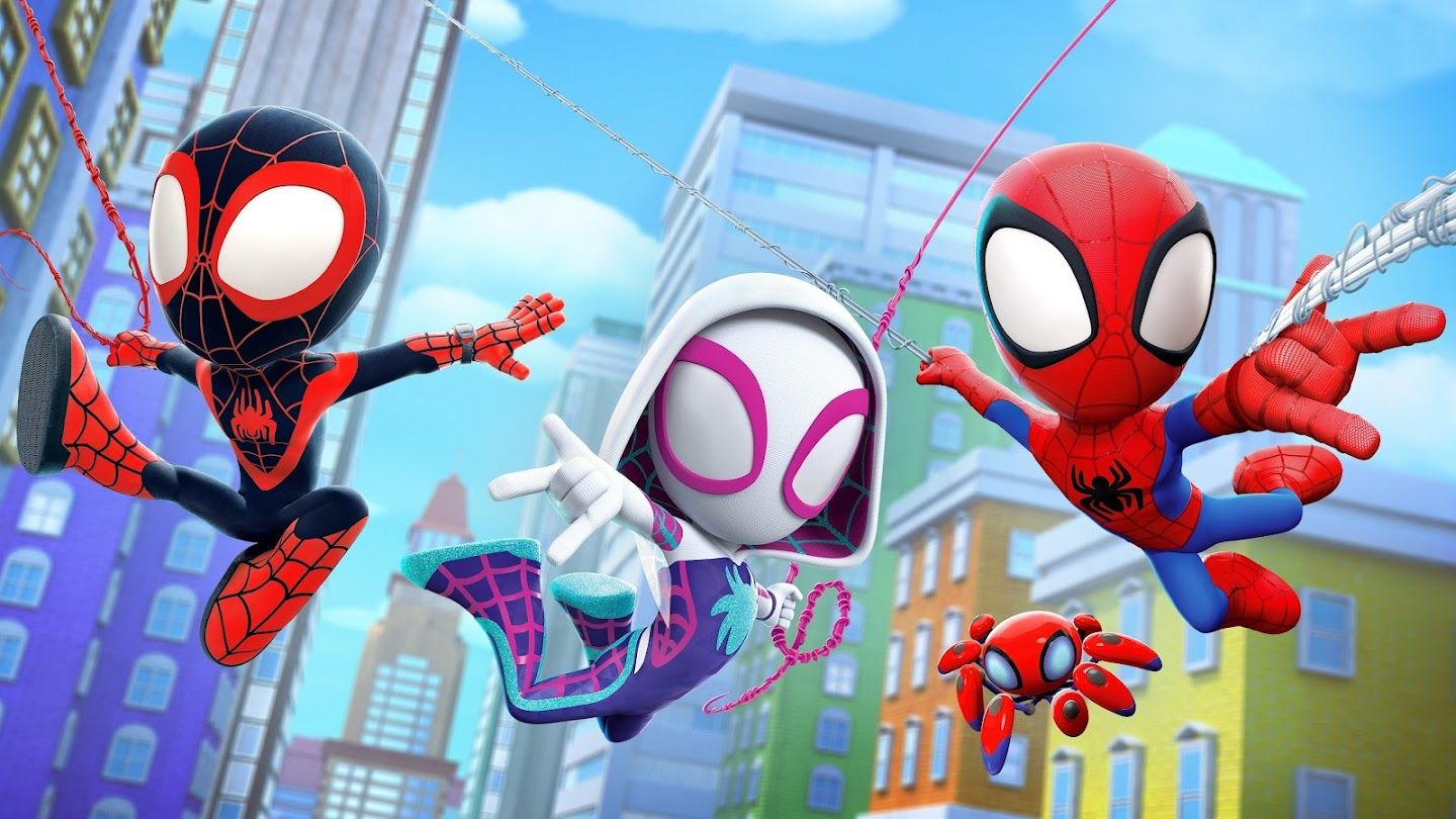 Watch Spidey and His Amazing Friends live