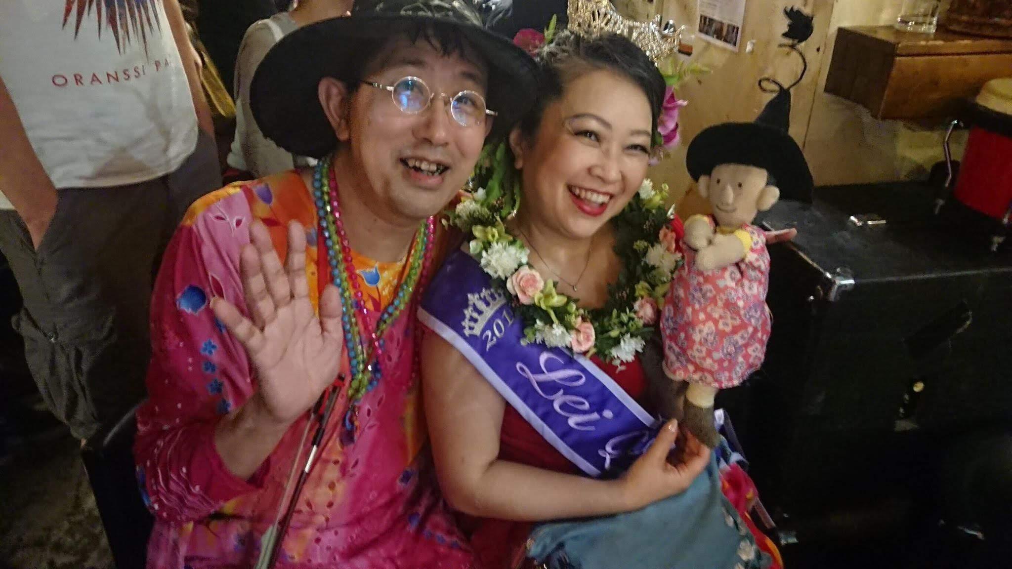 [動画あり] 歌舞伎町に咲いたアダ花。突貫ユニット「でこぽん、ひんでん」。in [PYT]