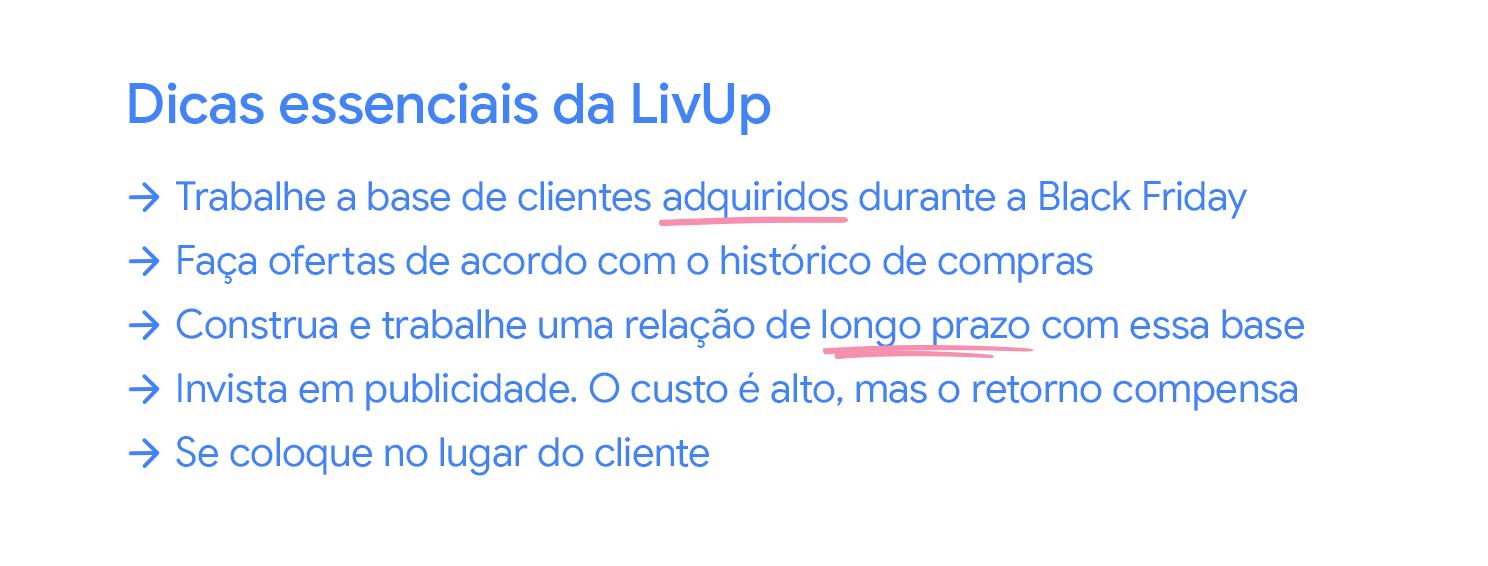 Tips from LivUp