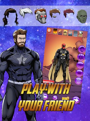Avengers Infinity Wars SuperHero Creator 1.3 screenshots 4