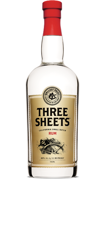 Logo for Ballast Point Three Sheets Rum