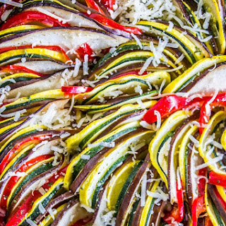 Roasted Garlic Ratatouille.